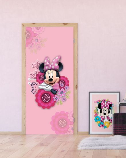 Minnie Mouse mural wallpaper 90x202cm Dsney